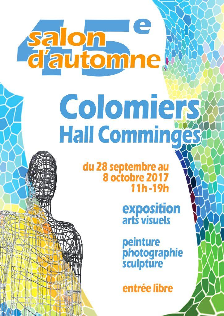 Affiche du 45ème salon d'automne de Colomiers
