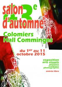 Affiche du 43ème salon d'automne de Colomiers