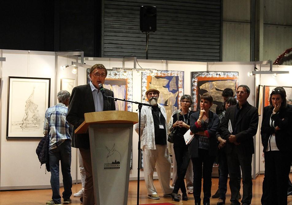 Vernissage du 43ème salon d'automne de Colomiers - Discours en hommage à M. Molina par Yves Galliacy