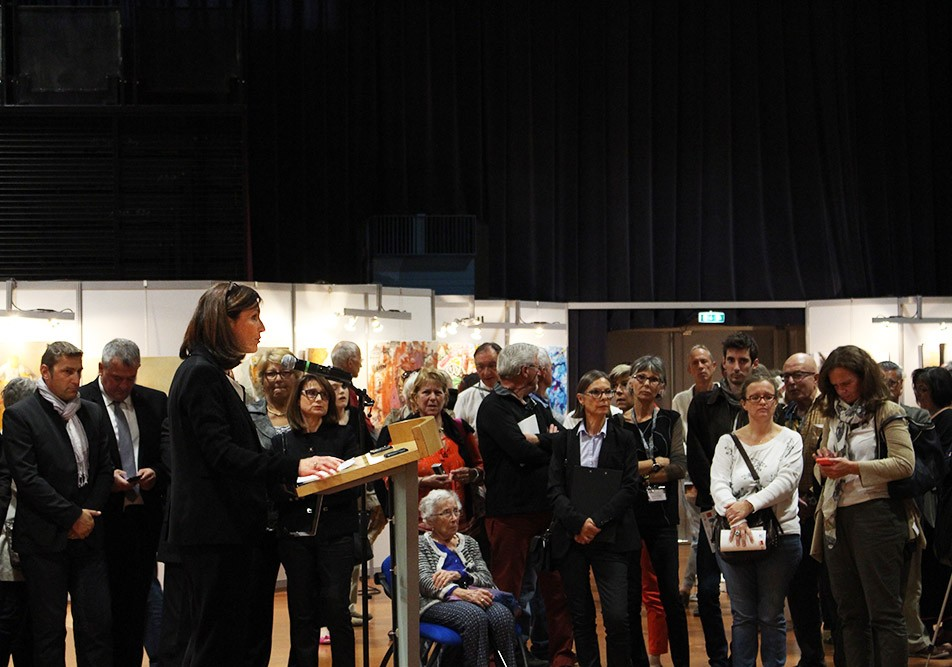 Vernissage du 43ème salon d'automne de Colomiers - Discours de Madame le maire de Colomiers