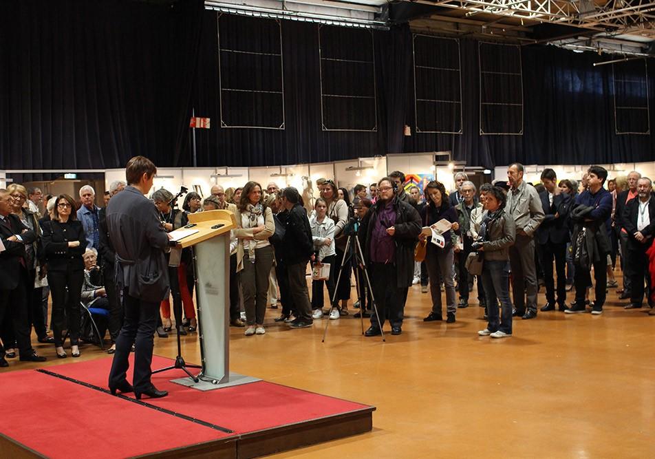 Vernissage du 43ème salon d'automne de Colomiers - Discours de Annie Lamour
