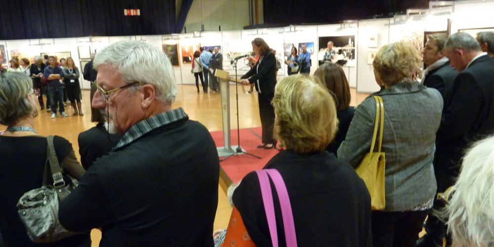 43ème salon d'automne de Colomiers - vernissage