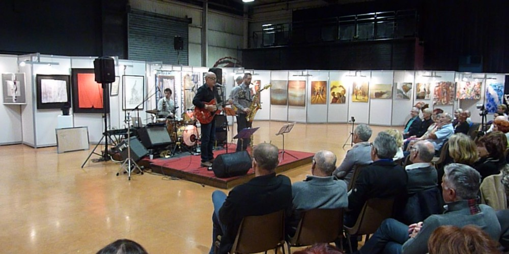 43ème salon d'automne de Colomiers - concert du Jan Quartet
