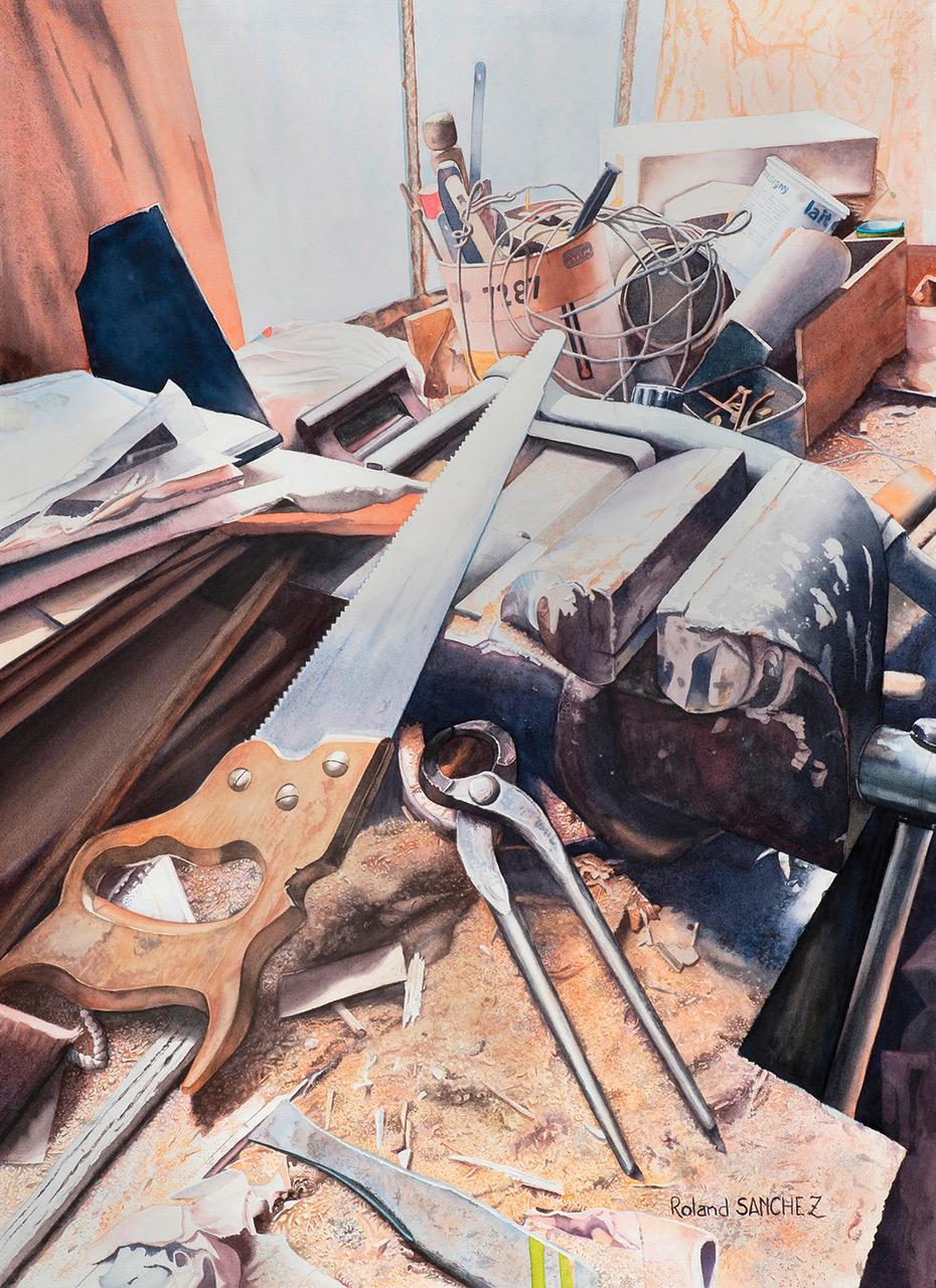 Prix d'aquarelle - art Colomiers expo - Roland Sanchez
