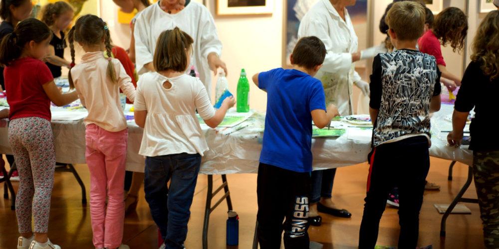 Atelier avec les enfants - art Colomiers expo