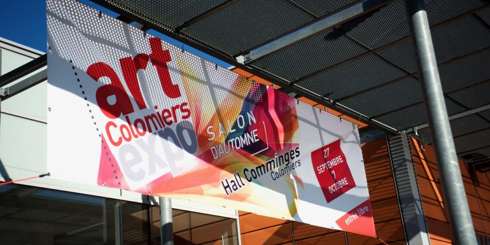 Entrée du Hall Comminges - art Colomiers expo