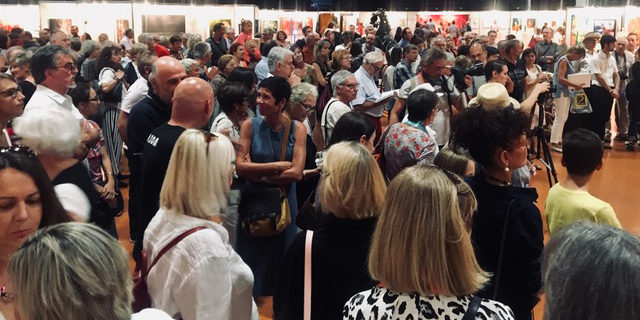Vernissage art Colomiers expo