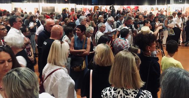 Vernissage art Colomiers expo