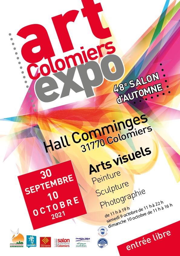 Affiche de art Colomiers expo - 48ème salon d'automne de Colomiers